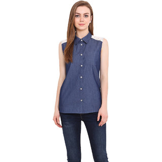 Blink Women Blue Shirt