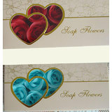 Gift Color Flower Bath Body Soaps Rose Petal Bud In Heart Box (Pack Of 6)_H7S4