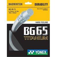 Yonex BG 65 Titanium Badminton String (Assorted)