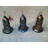 "Free Shipping Decorative Hanging Bell Fully Designed 3"" (combo Of 3)"