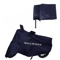 BullRider India Bike body cover with mirror pocket Perfect fit for Yamaha FZ-S