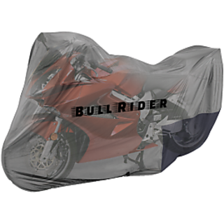 BullRider India Bike body cover with mirror pocket Dustproof for Bajaj Pulsar 135LS