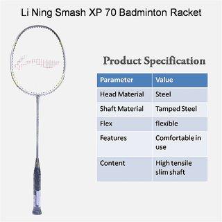 Li-Ning Smash XP-70 Badminton Racquet (Assorted)