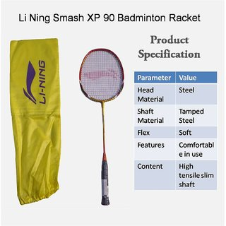 Li-Ning Smash XP-90 Badminton Racquet (Assorted)