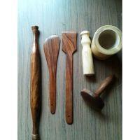 Onlineshoppee Wooden Spoon Set (Option 1)