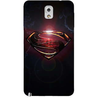 EYP Superheroes Superman Back Cover Case For Samsung Galaxy Note 3 N9000 90035