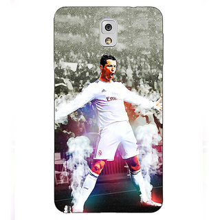 EYP Cristiano Ronaldo Real Madrid Back Cover Case For Samsung Galaxy Note 3 N9000 90305