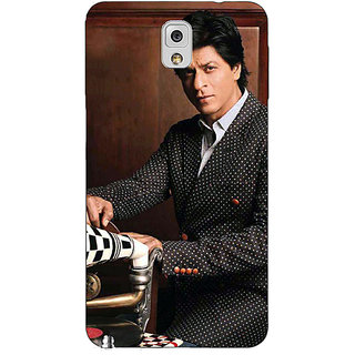 EYP Bollywood Superstar Shahrukh Khan Back Cover Case For Samsung Galaxy Note 3 N9000 90965