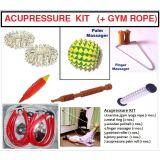 Pocket Gym/yoga/exercise Rope + Acupressure Kit