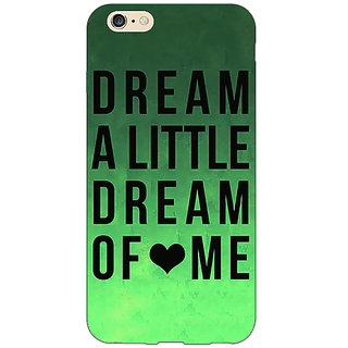 EYP Dream Love Back Cover Case For Apple iPhone 6 Plus 170094