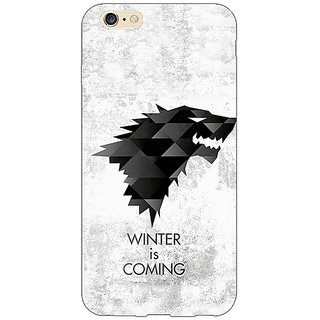 EYP Game Of Thrones GOT House Stark  Back Cover Case For Apple iPhone 6 Plus 170130