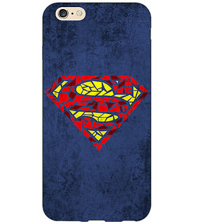 EYP Superheroes Superman Back Cover Case For Apple iPhone 6 Plus 170381