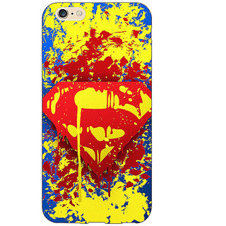 EYP Superheroes Superman Back Cover Case For Apple iPhone 6 Plus 170392