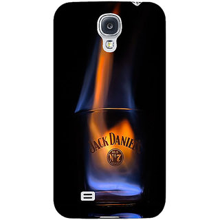 EYP Jack Daniels JD Whisky Flaming Back Cover Case For Samsung Galaxy S4 Mini I9192 161212