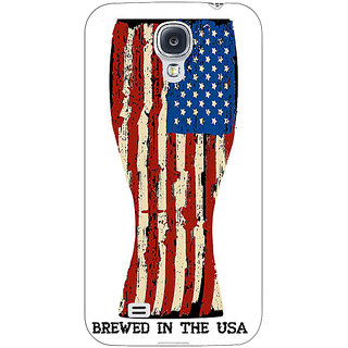 EYP USA Beer Back Cover Case For Samsung Galaxy S4 Mini I9192 161213