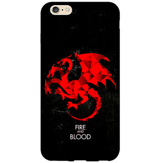 EYP Game Of Thrones GOT House Targaryen  Back Cover Case For Apple iPhone 6 Plus 170140