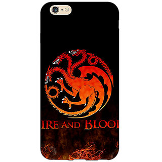 EYP Game Of Thrones GOT House Targaryen  Back Cover Case For Apple iPhone 6 Plus 170142