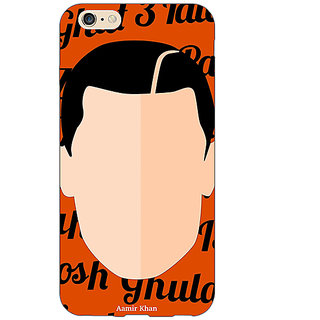 EYP Bollywood Superstar Ghajini Aamir Khan Back Cover Case For Apple iPhone 6 Plus 171091