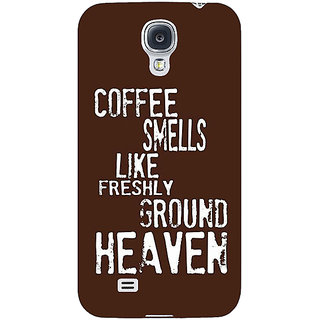 EYP Coffee Quote Back Cover Case For Samsung Galaxy S4 Mini I9192 161221