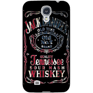 EYP Jack Daniels JD Whisky Back Cover Case For Samsung Galaxy S4 Mini I9192 161223