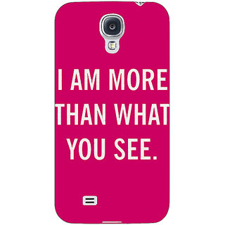 EYP Quote Back Cover Case For Samsung Galaxy S4 Mini I9192 161225