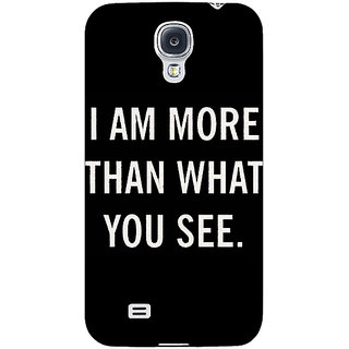 EYP Quote Back Cover Case For Samsung Galaxy S4 Mini I9192 161230
