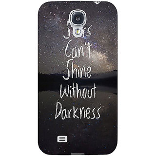 EYP Quote Back Cover Case For Samsung Galaxy S4 Mini I9192 161478