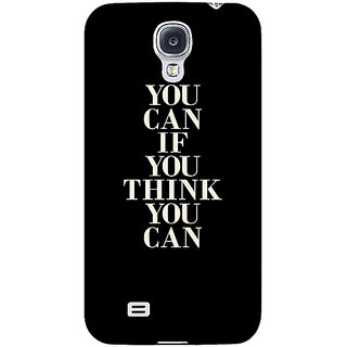 EYP Quote Back Cover Case For Samsung Galaxy S4 Mini I9192 161480