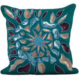 Blue Beach Cushion Cover - Set Of 2