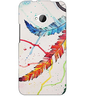 EYP Dream Catcher  Back Cover Case For HTC One M7 190195