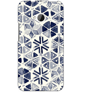 EYP Snow winter Pattern Back Cover Case For HTC One M7 190278