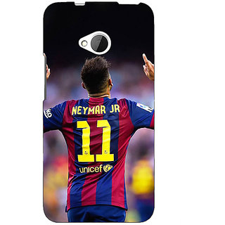 EYP Barcelona Neymar Back Cover Case For HTC One M7 190527