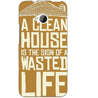 EYP Quote Back Cover Case For HTC One M7 191371