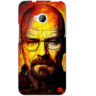 EYP Breaking Bad Heisenberg Back Cover Case For HTC One M7 190405