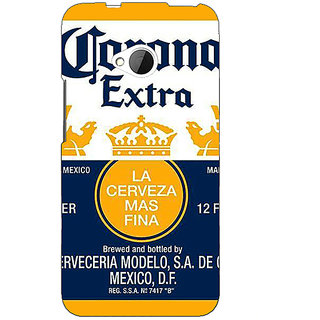 EYP Corona Beer Back Cover Case For HTC One M7 191246