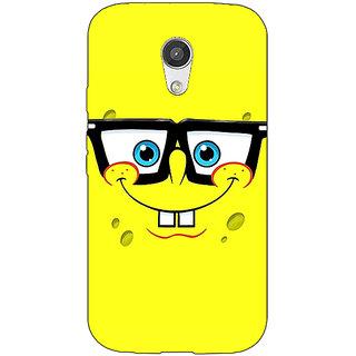 EYP Spongebob Back Cover Case For Moto G (2nd Gen) 200459