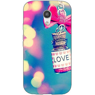 EYP Love Bottle Back Cover Case For Moto G (2nd Gen) 201145