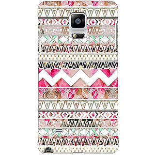 EYP Aztec Girly Tribal Back Cover Case For Samsung Galaxy Note 4 210066