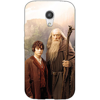 EYP LOTR Hobbit Gandalf Frodo Back Cover Case For Moto G (2nd Gen) 200357