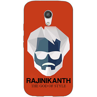 EYP Rajni Rajanikant Back Cover Case For Moto G (2nd Gen) 201484