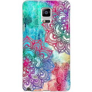 EYP Hot Doodle Pattern Back Cover Case For Samsung Galaxy Note 4 210210