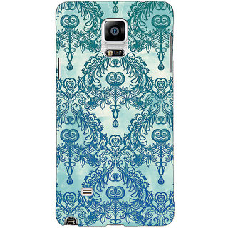 EYP Vintage Pattern Back Cover Case For Samsung Galaxy Note 4 210223