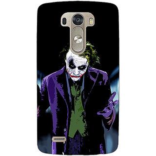 EYP Villain Joker Back Cover Case For Lg G3 D855 220045