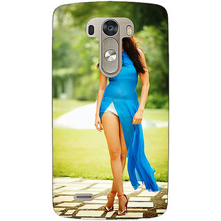 EYP Bollywood Superstar Anushka Sharma Back Cover Case For Lg G3 D855 220987