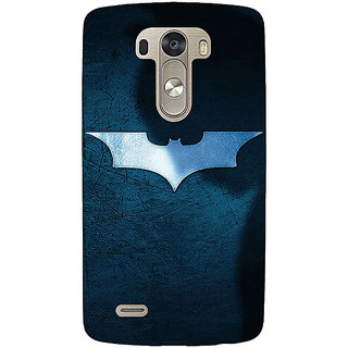 EYP Superheroes Batman Dark knight Back Cover Case For Lg G3 D855 220003