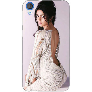 EYP Bollywood Superstar Alia Bhatt Back Cover Case For HTC Desire 820Q 290972