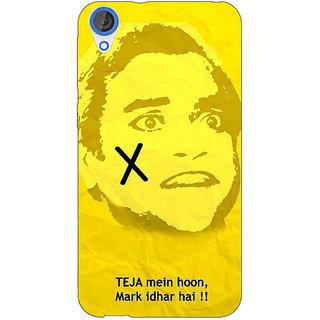 EYP Bollywood Superstar Andaz Apna Apna Teja Back Cover Case For HTC Desire 820 281078