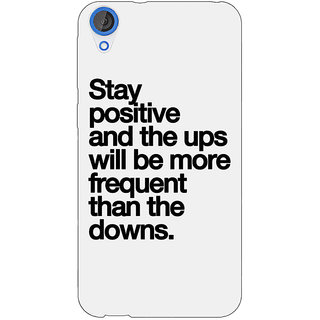 EYP Quotes Back Cover Case For HTC Desire 820Q 291187