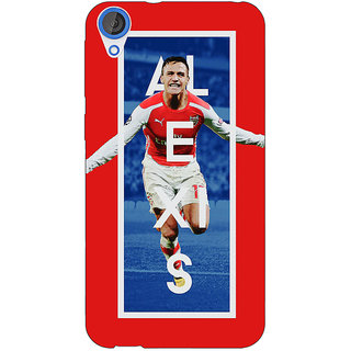 EYP Arsenal Alexis Sanchez Back Cover Case For HTC Desire 820 Dual Sim 300506