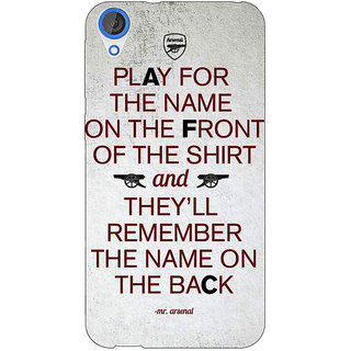 EYP Arsenal Back Cover Case For HTC Desire 820 Dual Sim 300512